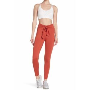 Free People | ursa high waist front tie leggings L